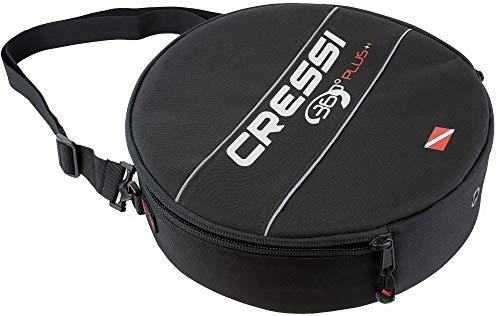 Cressi 360 360-Bolsa reguladora, Color Negro, Unisex Adulto