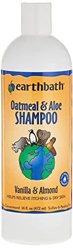 Champú para mascotas Earthbath All Natural, paquete de 1, Oatmeal and Aloe, Paquete de 1