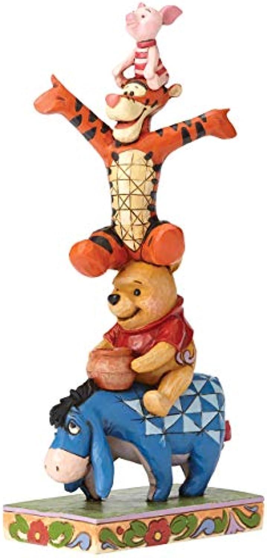 Disney Tradition Built By Friendship (Eeyore, Winnie The Pooh, Tigger & Piglet Figur)