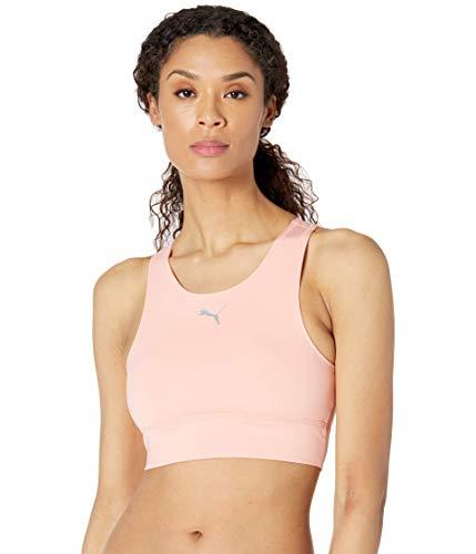 PUMA womens Rtg Top Sports Bra, Apricot Blush, X-Large US