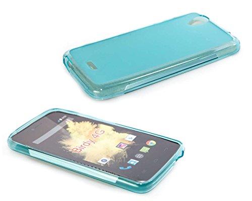 caseroxx TPU-Hülle für Wiko Birdy 4G, Handy Hülle Tasche (TPU-Hülle in hellblau)