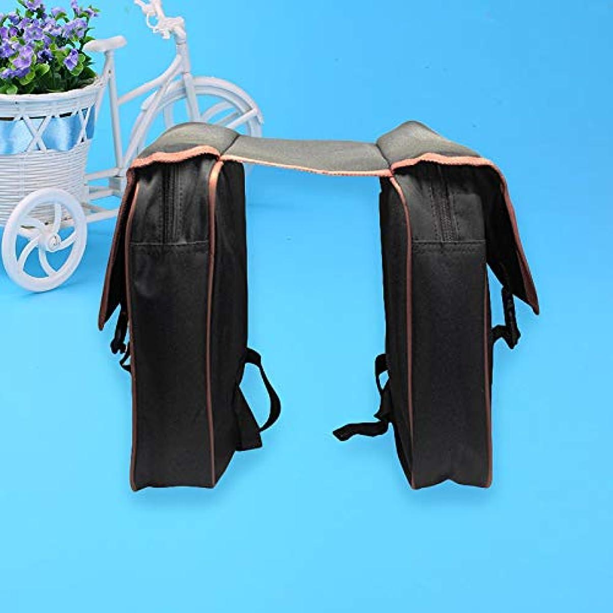 魅了するとげのある航空機自転車パニアバッグ リアラック 自転車パニアバッグ 自転車 後部座席ラックバッグ