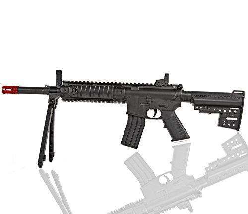 Nerd Clear Softair Gewehr 56cm mit Dreibein! ab 14 J. unter 0,5 Joule