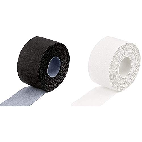 JAKO Tape 3,8 cm, Schwarz, 3.8 cm & Tape 3,8 cm Weiß, 3.8 cm