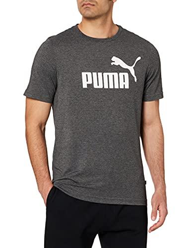 PUMA Essentials Heather Herren T-Shirt Puma Black 6XL