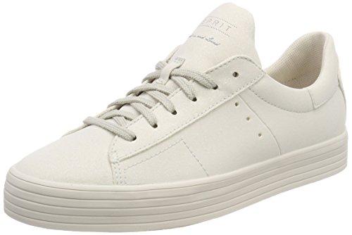 ESPRIT Damen Sita Glitter LU Sneaker, Grau (Pastel Grey), 38 EU