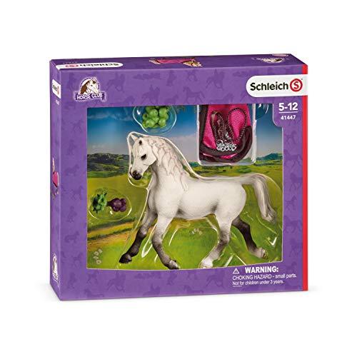 Schleich 41447 - speelgoedfiguur - Araber Stute met deken