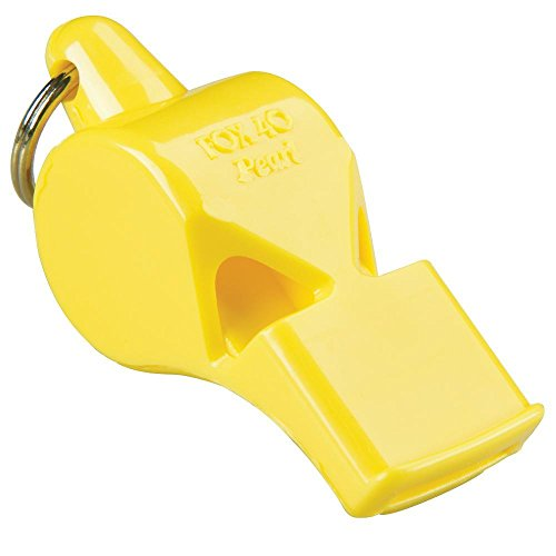 Fox 40 Pearl Whistle, Referee-Coach, Safety Alert, Dog, Rescue, Outdoor-Yellow