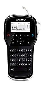 Dymo S0968960 Label Manager 280 Handheld Label Maker Qwerty Keyboard (with UK Plug) Black (B00AOHBRJM) | Amazon price tracker / tracking, Amazon price history charts, Amazon price watches, Amazon price drop alerts