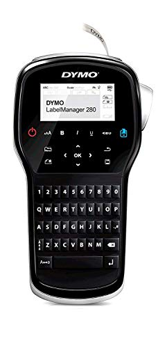 Dymo LabelManager 280 Rechargeable Handheld Label Maker with Qwerty Keyboard