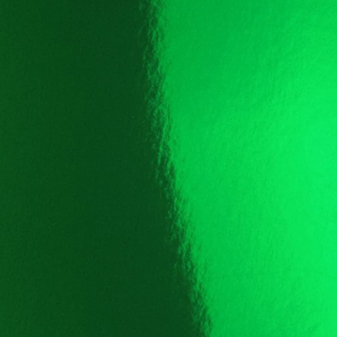 Hygloss Products Mirror Board Sheets - For Arts and Crafts, 12 x 12 in, Green, 10 Pack