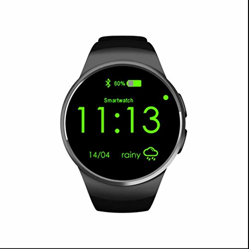 Frequenza cardiaca monitor Smart Watch MTK2502SIM TF Card Smart Watch telefono contapassi e monitoraggio sonno salute Activity Tracker fitness Smart Watch per Android e iOS