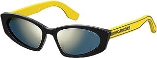 نظارات شمسية من مارك جاكوبس 356 /S 040G أصفر/جو رمادي برونزي مرآة