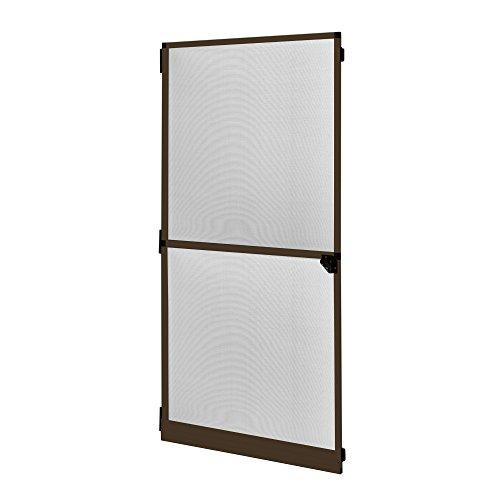 JAROLIFT Profi Line - Puerta mosquitera con marco giratorio, Protección contra insectos, 120 x 220 cm, color marrón
