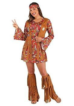 Fun World Peace & Love Hippie Adult Costume Small/Medium