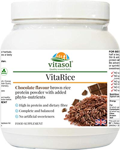 Vitasol Health VitaRice Chocolate Flavour Brown Rice Protein Powder