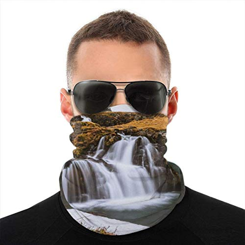 BDGAjdka Winter In Iceland Face Face Scarf Seamless Bandanas Multifunctional Headwear for Men Women