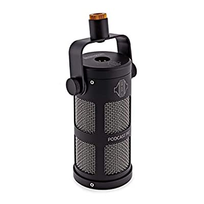 SONTRONICS PODCAST PRO Black dynamic microphone for podcast, broadcast, streaming & video conference