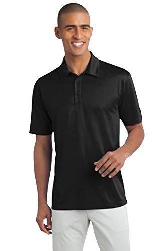 Port Authority Men's Silk Touch Performance Polo L Black