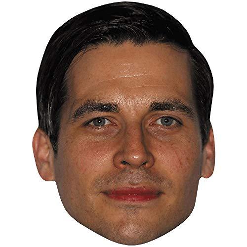 Celebrity Cutouts Rob James Collier (Stubble) Maske aus Karton