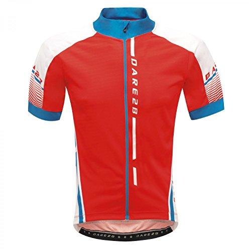 Dare2b Signature Tour Jersey Herren Radtrikot mit sehr gutem Feuchtigkeitstransport