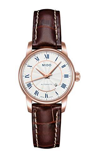 Mido Baroncelli M76002218 - Reloj para Mujeres, Correa de Cuero Color marrón