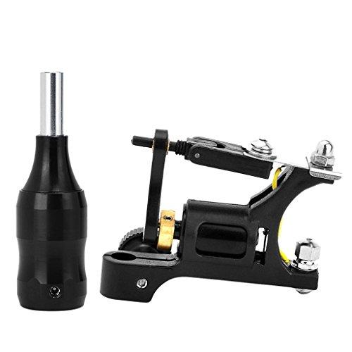 MagiDeal Machine Légère de Tatouage à Moteur Rotatif à Shader Liner en Acier Inox + Aluminium Poignée