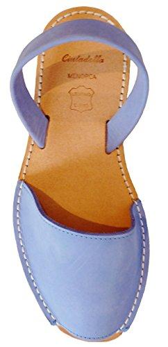 Avarcas menorquínas con Plataforma/cuña 2,5 cm Beige, Abarcas, Albarcas, Sandalias