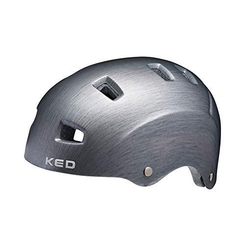 KED Risco M Grey Metal Mate - 54-58 cm - Incluye cinta...