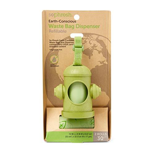 Petco Brand - So Phresh Fire Hydrant Earth-Conscious Dog Waste Bag Dispenser