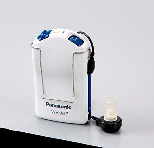 [Panasonic] ポケット型 アナログ 補聴器 WH-A27 ホワイト 日本 F (-)