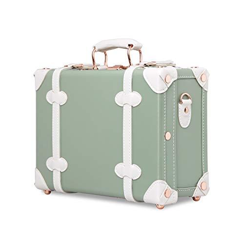 可愛い キャリーケース 女の子 ハンドバッグ ミニ キャリーバッグ 1.3KG 小さい 13インチ 7L 手作り スーツケース かわいい トランクケース ストラップ付き