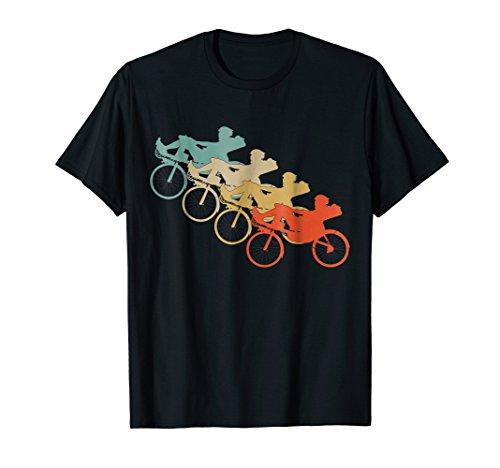 Vintage Retro Style Recumbent Bicycle Bike Cycling T-Shirt