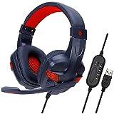ヘッドセットUSBコンピューターヘッドセットゲームインターネットカフェヘッドフォンミュートノイズリダクションヘッドフォン