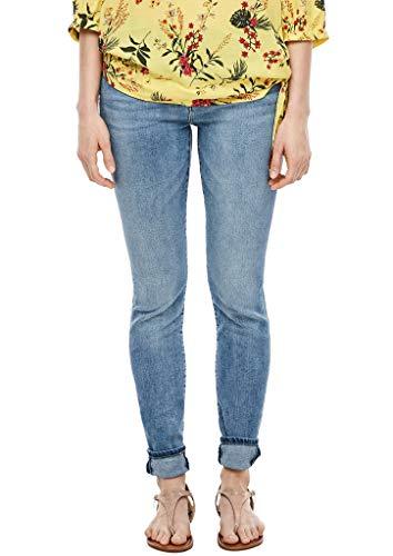 s.Oliver Damen Skinny Fit: Skinny leg-Jeans blue 44.32