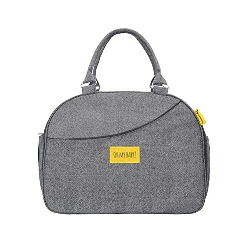Badabulle Weekend - Bolso de maternidad, gris