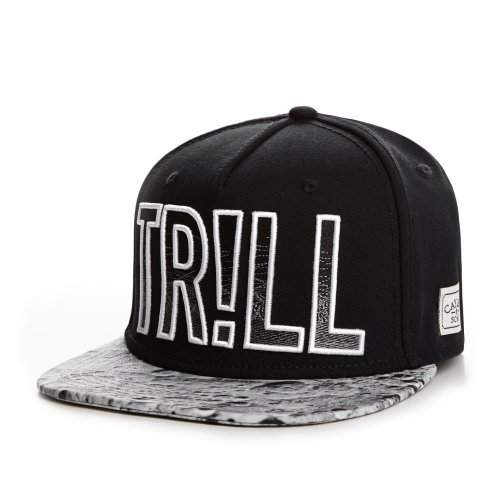 Cayler And Sons - Casquette Snapback Homme Trill Cap - Black/Moon/White