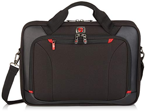 Victorinox Highwire 17' Deluxe Laptop Briefcase, Black, Inch