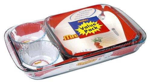 Marinex Value-Pack 4-Piece Bakeware Set