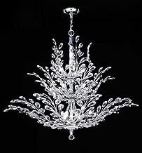 James R Moder 94458G22 Florale Collection Royal Gold Chandelier