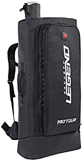 Legend Archery ProTour Backpack - Premium Recurve Bow Case - with Arrows Telescopic Tube - Take Down Recurve Bow up to 27