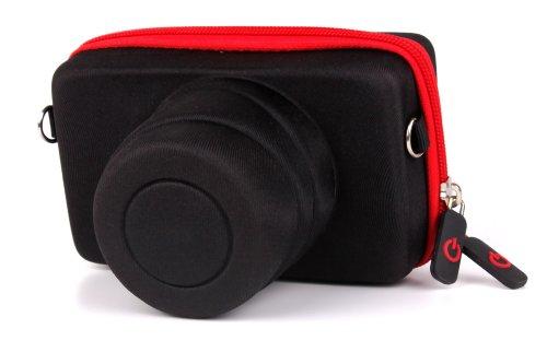 DURAGADGET Shock-Absorbing Protective Compact Camera Generic Case in Black...