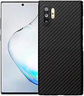 Super Slim Case for Samsung Galaxy Note10+ Plus, The Real Aramid Fiber Protective Cover Skin, Soft Touch Sturdy Carbon Fiber Durable Case, Snap-on Back Cover Wireless Charging Friendly