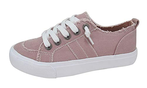 Jellypop Women's Kory Sneaker, Blush Stone Wash, 9.5