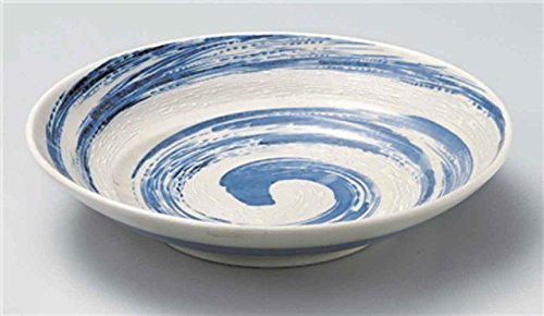 Kobiki Blue 11.4inch Set of 5 Large Bowls porcelain Made in Japan