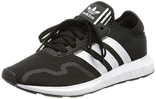 adidas Unisex dzieci?ce buty Swift Run X J, czarny - Core Black Ftwr White Core Black - 39 1/3 EU