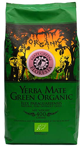 Premium Bio Yerba Mate Tee I Floresta   Fruity, strong infusions   Revitalization and strength   Organic, natural blend, 400g