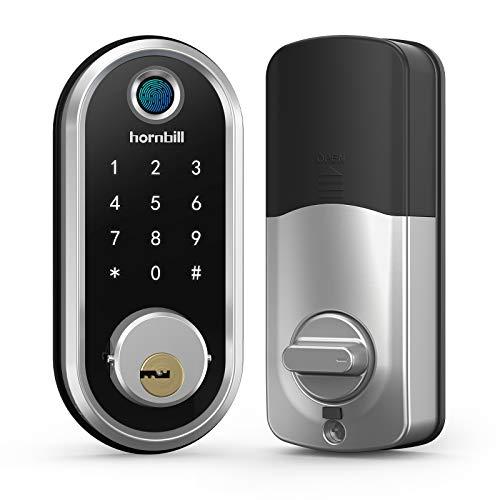 hornbill Deadbolt Lock, Smart Lock Front Door,...