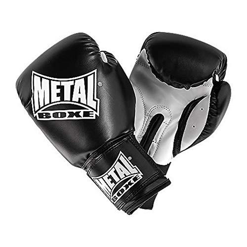 Metal Boxe Parastinchi, colore nero, taglia 4 oz