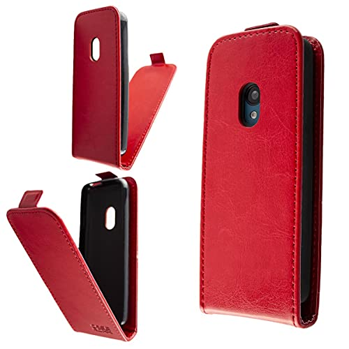caseroxx Flip Cover per Nokia 125/150 (2020), tasca (Flip Cover in rosso)